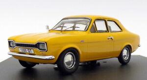 Trofeu-coche-modelo-escala-1-43-501-Ford-Escort-GT-1300-RHD-amarillo-de-primavera