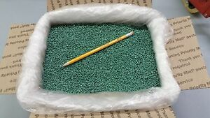 PLASTIC-PELLETS-GLASS-FILLED-NYLON-GREEN-COLOR-22-lbs-RIFLE-SIGHTING-BAGS