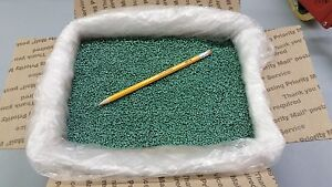 PLASTIC-PELLETS-GLASS-FILLED-NYLON-GREEN-COLOR-16-lbs