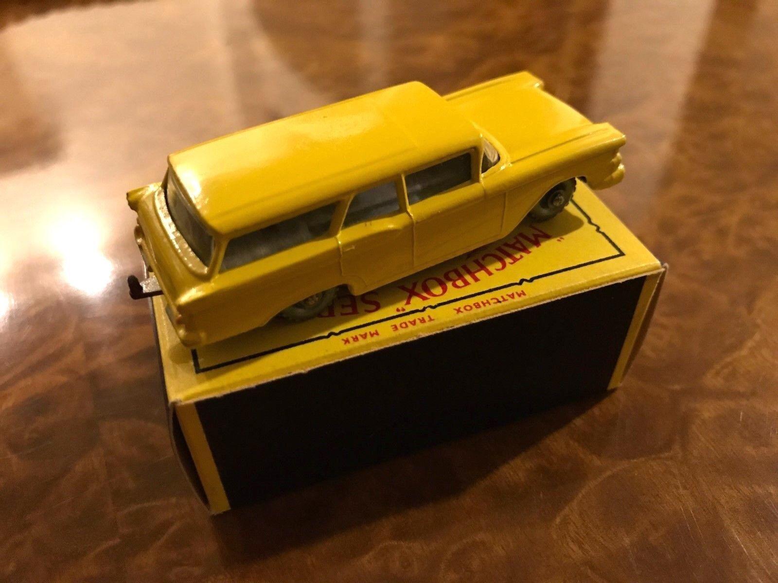 Vintage Matchbox   État Neuf + Boîte   Rare Ford Wagon   Jour 1 Beauté   N0. 31