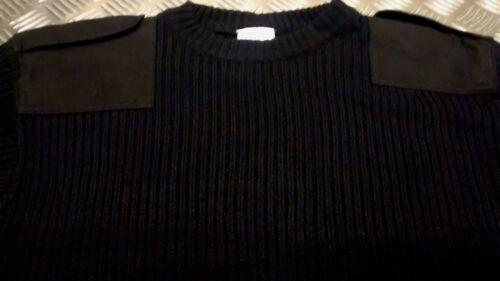 NUOVO Stile dell/'esercito Commando Pullover Maglione Pullover Girocollo Caldo tutte le taglie//COL