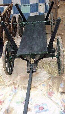 Geräte Willensstark Handwagen Antik Holzhandwagen Bollerwagen Deko Aus Der Guten Alten Zeit Antiquitäten & Kunst