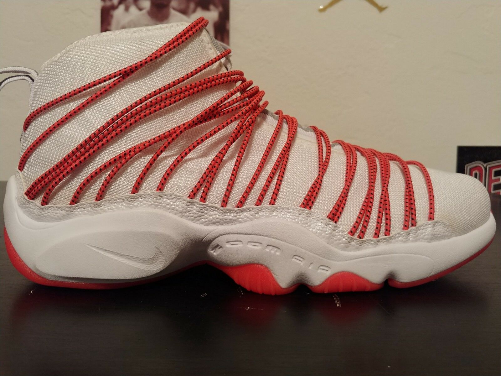 Nike Zoom Cabos Men's Basketball shoes Size 8 US 845058-100