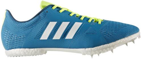 Blue adidas Adizero MD Running Spikes