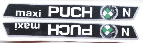 Tankabzug réservoir autocollants puch Maxi N avec puch emblème MOBYLETTE vélomoteur