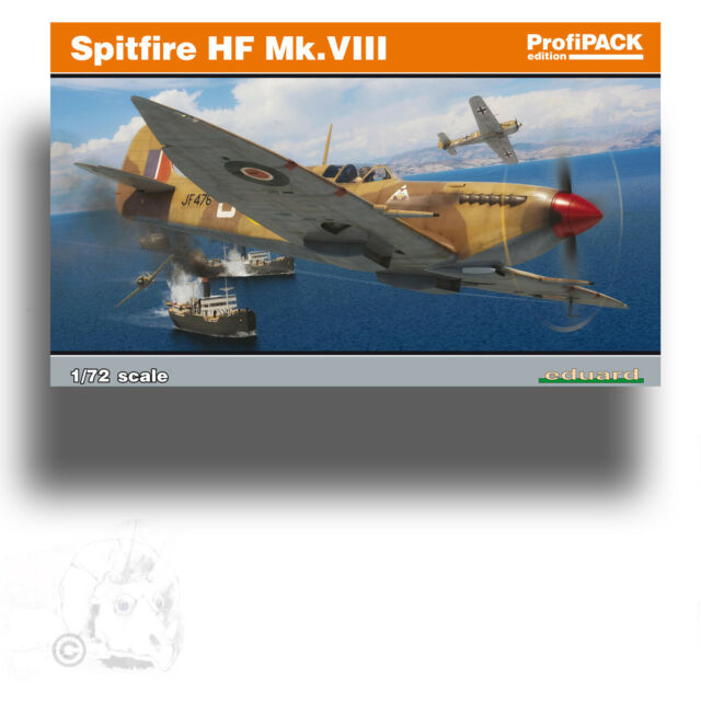 Neu Profipack Eduard Plastic Kits 70129-1:72 Spitfire HF Mk.VIII