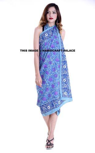 100/% Cotton Sarong//Wrap//Kaftan//Holiday//Cover Up//Beach//Pool//Scarf//Paero//Resort UK