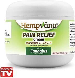 Hempvana  Pain Relief Cream  (4 Oz)
