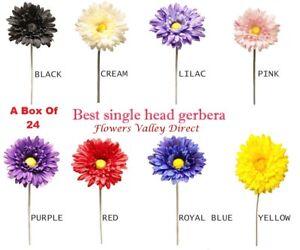 Box-of-24-Single-Head-Stem-Artificial-Gerbera-supreme-colours-flowers-bulk-decor