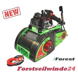 Forstseilwinde-Seilwinde-VF-155-Docma-Benzinwinde-inkl-80-m-Seil-mit-Zubehoer
