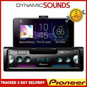 Pioneer SPH-20DAB Single Din Smartphone Holder DAB Bluetooth USB Car Stereo
