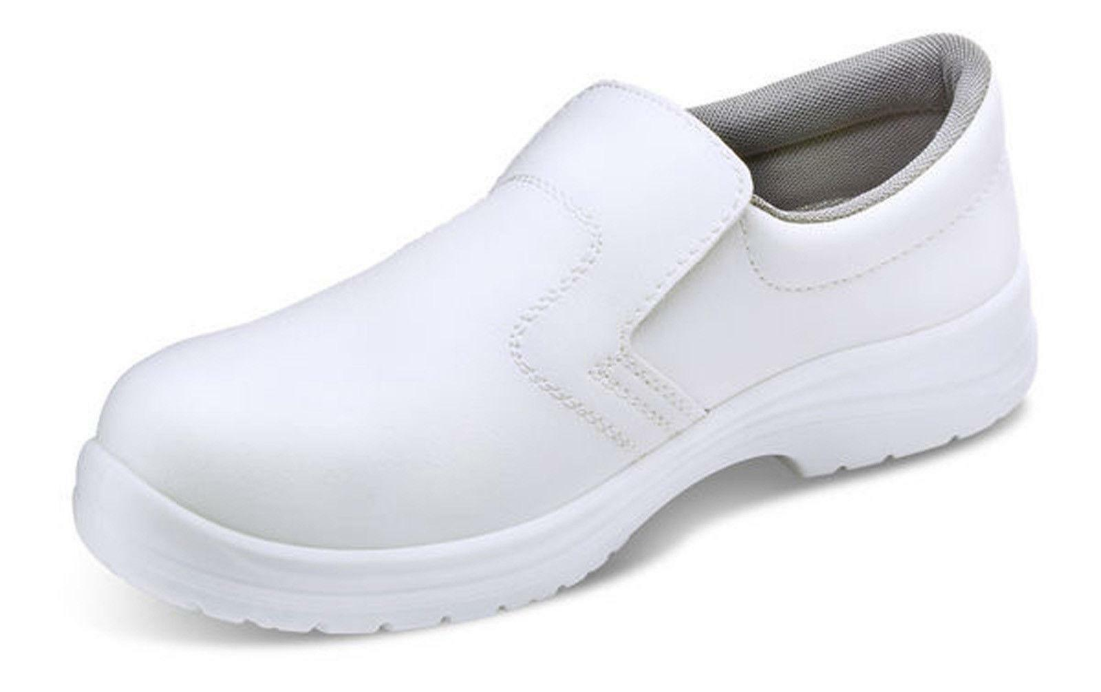 Click Micro Fibre Slip On Work shoes S2 CF832 - SALE PRICE