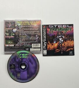 Steel-Harbinger-Sony-PlayStation-1-1996-COMPLETE-TESTED-PS1