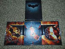 Batman: The Dark Knight Trilogy- Limited Edition DVD Set (2012) Movie LOT USED