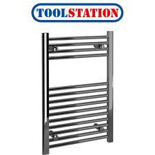 Kudox Chrome Flat Ladder Towel Radiator 750 x 500mm 788Btu