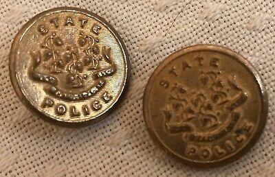 Unique Vintage Philadelphia Police Department Brass Coat Button PENDANT NECKLACE