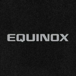 Details about Chevy Equinox 3 PC Custom Carpet Floor Mats W/Logo on Fronts  Fits 2013-2017