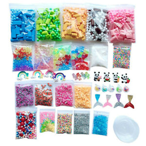 Slime-Supplies-Kit-Foam-Beads-Charms-Styrofoam-Balls-Tools-For-DIY-Slime-Making