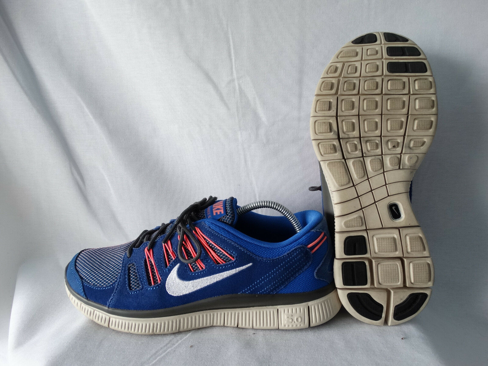 Nike Free 5.0 EXT Laufschuhe Runner 580530-414 blau-Orange-grau EU 40,5 US 7,5         Große Ausverkauf    Charmantes Design