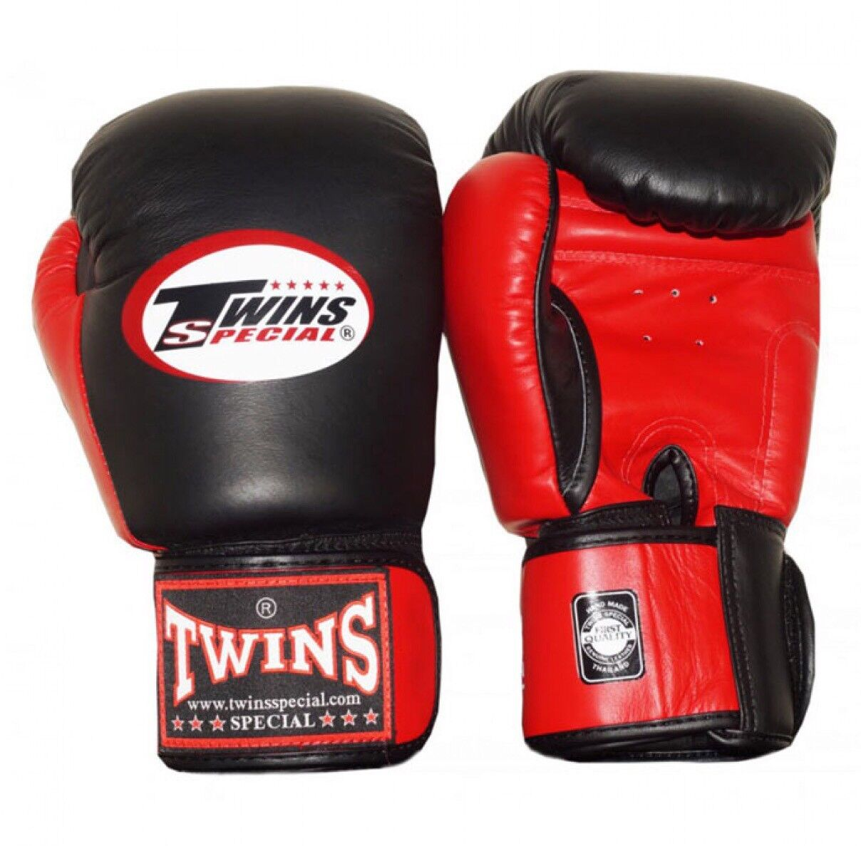 Twins Special Bgvl-3T Blk/ROT 10oz Muay Thai/ Boxing Gloves