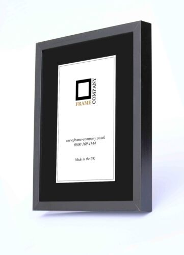 Frame Company 20 X 16-inch Wooden Picture Photo Frames Black | eBay