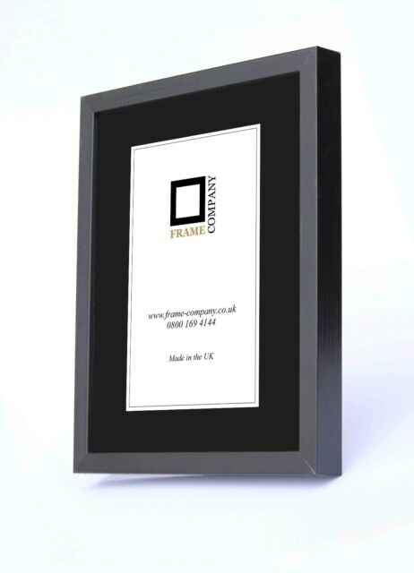 Frame Company 20 X 20-inch Wooden Picture Photo Frames Black | eBay