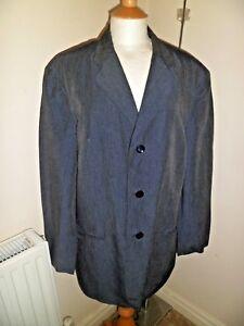 Rayon Uk Stunning Jacket lino Iconic Uk di 44 Armani Iconic Collezione giacca Rayon e Stunning 44 Armani Linen Collezione OqC68