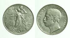 pci0458) Italia regno Vittorio Emanuele III lire 2 Cinquantenario 1911