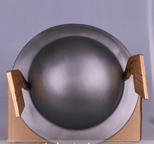 The Flash 2 Helmet Jay Garrick Silver Kettle Helmet Cosplay Hat 1:1 Adult Size