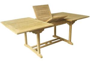 Echt Teak Tisch Gartentisch Teaktisch Ausziehbar 180120 X 120 X 75