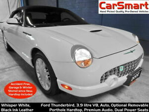2002 Ford Thunderbird 2dr Conv with Hardtop, No Winters, No Accidents