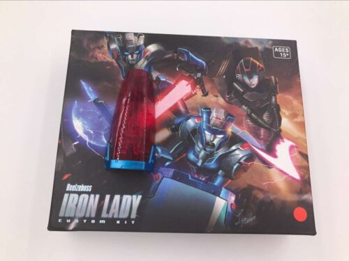 BBTS Red Shield BLZ-06  IRON LADY  ADD-ONS FOR GENERATIONS ARCEE /& CHROMIA