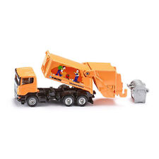 "Siku 1890 Scania Garbage truck ""Faun"" orange Scale 1:87 new! °"
