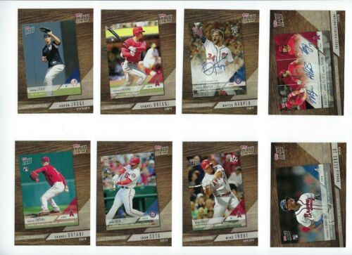 Topps Now Review Insert Complete Your Set 2019 Topps Series 1 You Pick Choice
