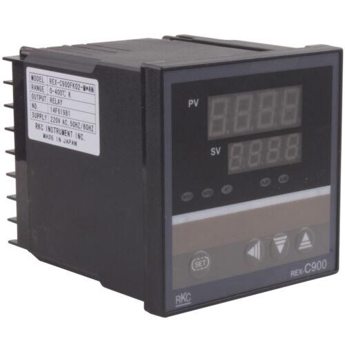 220V PID Smart Digital Temperature Controller SYSCON-RKC REX-C900 C900FK02-M*AN