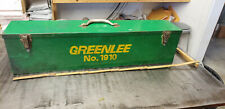 Greenlee 1910 Metal Storage Box For Cable Bender Tools 23 X 6 X 7 Deep
