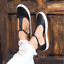 Womens-Summer-T-Strap-Pumps-Flat-Sandals-Ankle-Buckle-Casual-Beach-Shoes-Size thumbnail 6