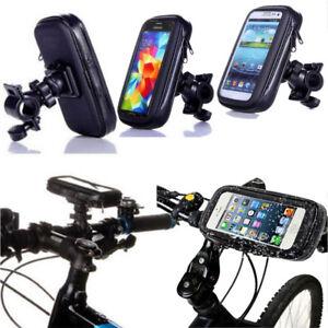 Universal-Wasserdicht-360-Grad-Fahrrad-Smartphone-Case-Halterung-Halter-fuer-Handy