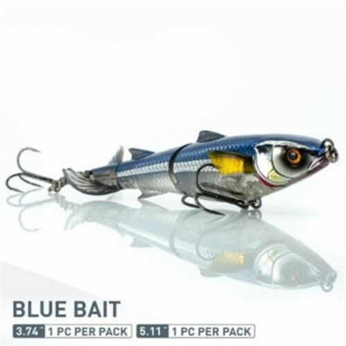 "Chasebaits DM95-05 Blue Bait Drunken Mullet 3.74"" Soft Bait Fishing Lure"
