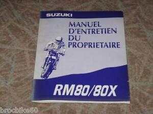 Manuel Revue D Atelier Suzuki Rm 80 Rm80 80rm 1994 -> Ghfuocmq-08003422-277310077