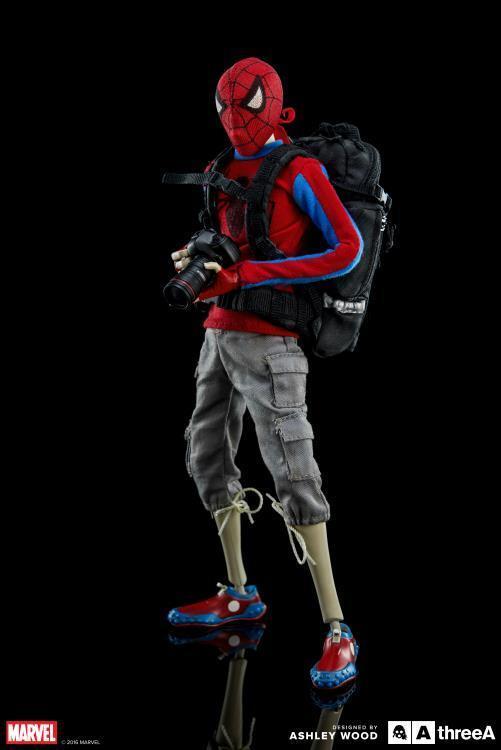 THREEA THREEA THREEA Marvel Peter Parker & Spiderbot Spider-uomo Set nuovo  Ashley Wood US SELLER ed2565