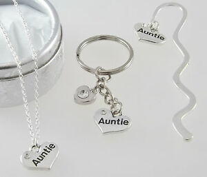 Image Is Loading Special Auntie Great Aunt Niece Necklace Or Mini