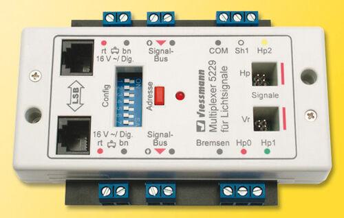 Viessmann 5229 moltiplicatori per segnali di luce con tecnologia multiplex  neu OVP
