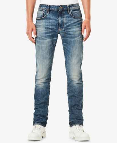 G-Star Raw Men/'s Medium Aged 3301 Deconstructed Higa Slim Straight Fit Jeans