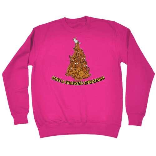 Noël Sweat-shirt ont une fissuration Noël Australie drôle X-MAS Pull