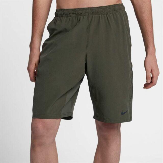Nike Men/'s N.E.T 11/'/' Flex Woven Tennis Shorts 455618-010 Black