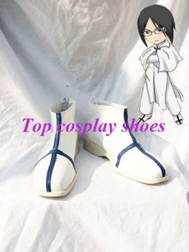 Anime Bleach Ishida Uryuu Cosplay Boots Shoes for Halloween Christmas festival