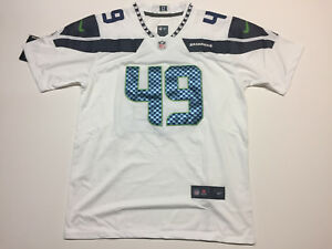 size 40 96372 1b759 Details about Shaquem Griffin #49 Seattle Seahawks White Men's Jersey Brand  New