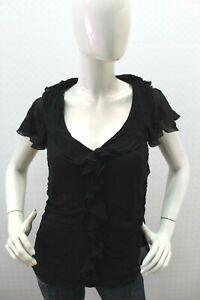 Maglia-LUISA-SPAGNOLI-Donna-Seta-Silk-T-shirt-Maglietta-Woman-Taglia-Size-48