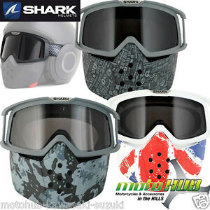 Shark Explore R Cisor Black White Est Raw Helmet Skwal Instinct Authentic Usa